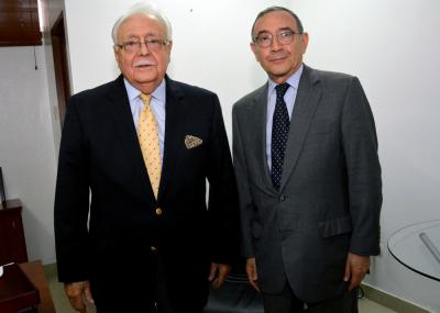 Visita de cortesía del Embajador de México