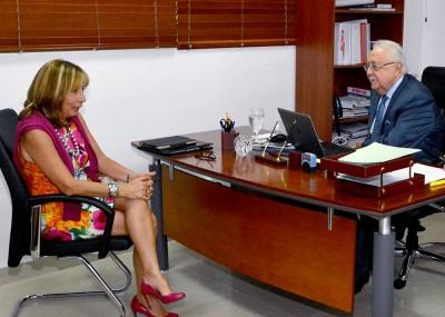 Visita de cortesía de la Representante para la Organización de Estados Americanos (OEA)