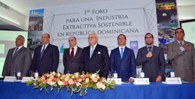 Energía y Minas celebra Primer Foro para una Industria Extractiva Sostenible en República Dominicana