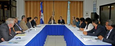 Viceministerio de Energía Nuclear sostiene reunión con representantes de OIEA y ONU