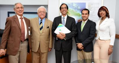 Montalvo recibe explicaciones sobre Base Nacional de Datos de Hidrocarburos