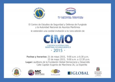 Energía y Minas Apoya Conferencia Internacional Marítima y Oceánica