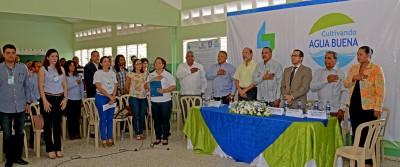 """Firman el """"Pacto de las Aguas"""" en la microcuenca del Río Maimón"""