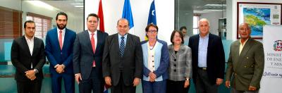 Ministerio de Energía y Minas firma memorándum de entendimiento con el Ministerio de Finanzas de Curazao para promover energía sostenible