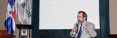"""El Ministerio de Energía y Minas realizó este jueves su cuarta conferencia magistral con el tema """"Hidrocarburos y Medio ambiente"""