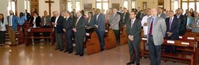 Ministerio de Energía y Minas conmemora su Primer Año de Gestión. Pelegrín Castillo agradece y llama al personal a continuar dando lo mejor de sí en beneficio de la Patria.