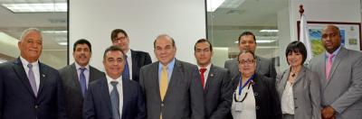 Ministerio de Energía y Minas firma contrato con empresa Schlumberger para la creación Base Nacional Datos de Hidrocarburos
