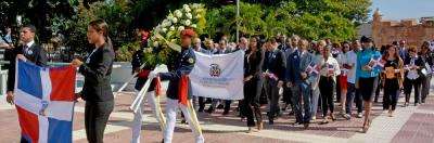 Ministro de Energía y Minas rinde honores a la Patria