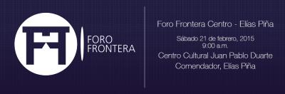 Foro Frontera de Energía y Minería en Comendador, Elías Piña