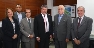 Visita de cortesía del Organismo Latinoamericano de Minería (OLAMI)