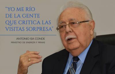 Antonio Isa Conde: visitas sorpresa son proyecto moderno de lucha contra pobreza