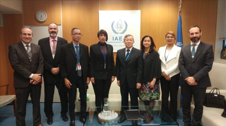 OIEA expresa su interés en incrementar cooperación con RD