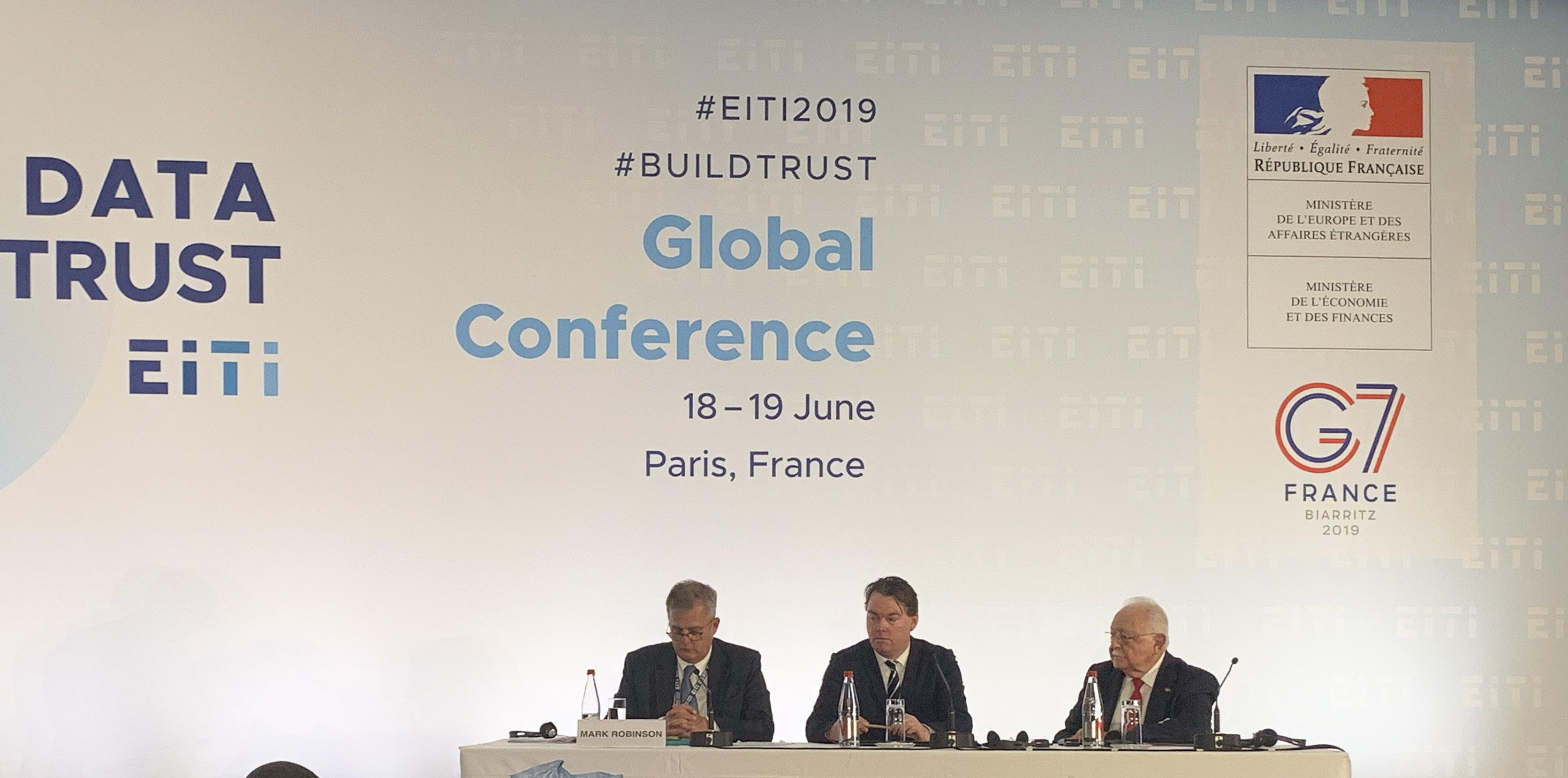 Energía y Minas expone informe de transparencia en Conferencia Global EITI