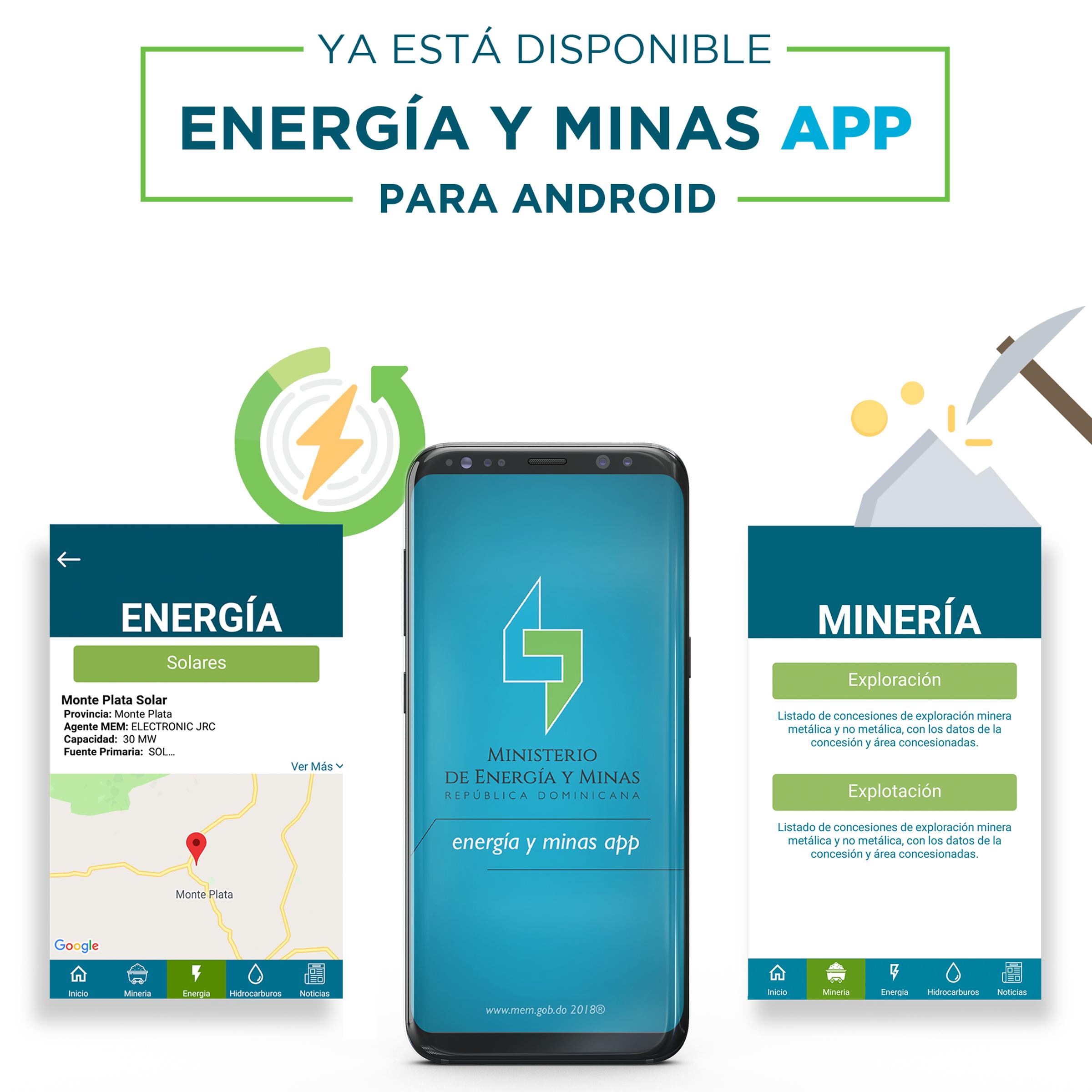 MEM lanza aplicación móvil sobre sectores energético y minero