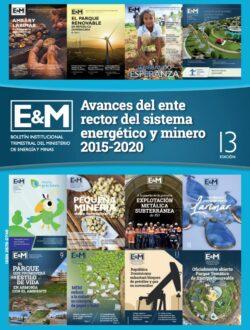 Avacnes del sistema enerético y minero 2015-2020