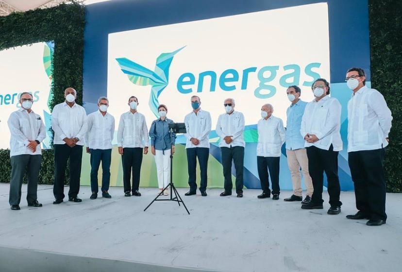 Abinader y sector energético acuden a inauguración planta de 300 MW convertida a gas natural en SPM