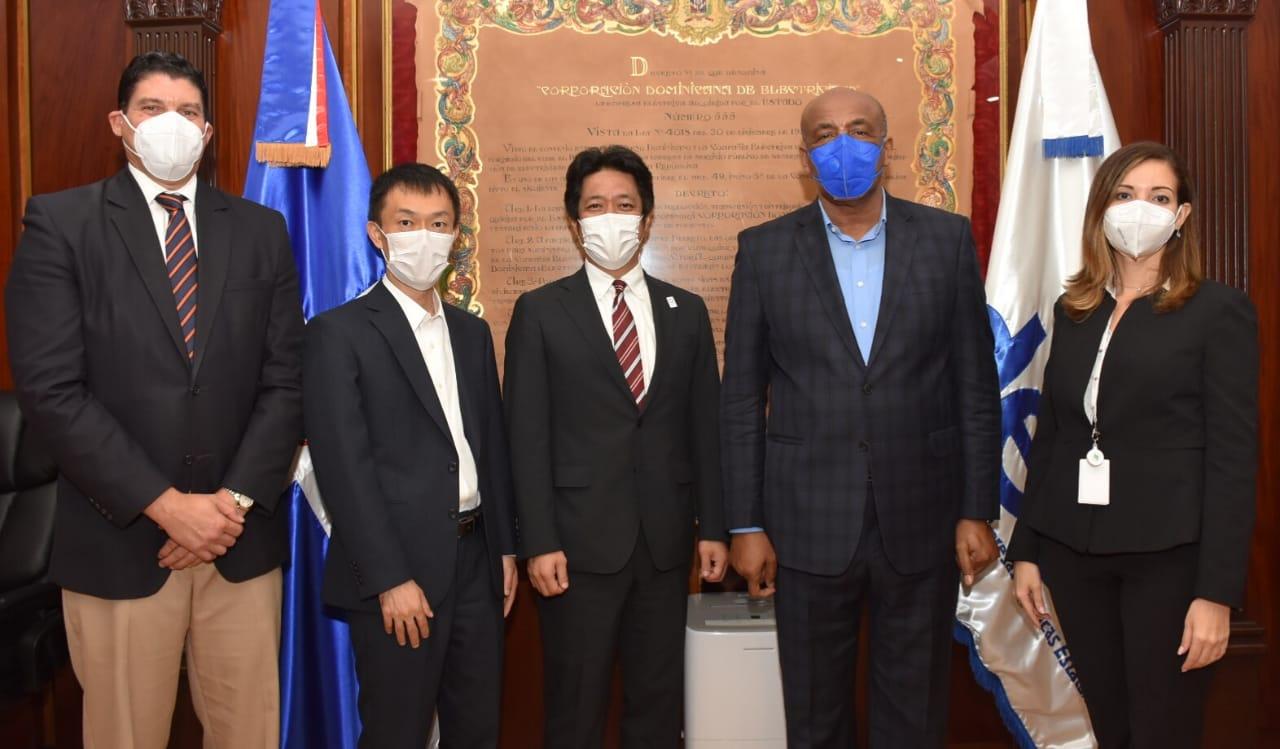 Ministro Almonte recibe representantes cooperación japonesa en RD