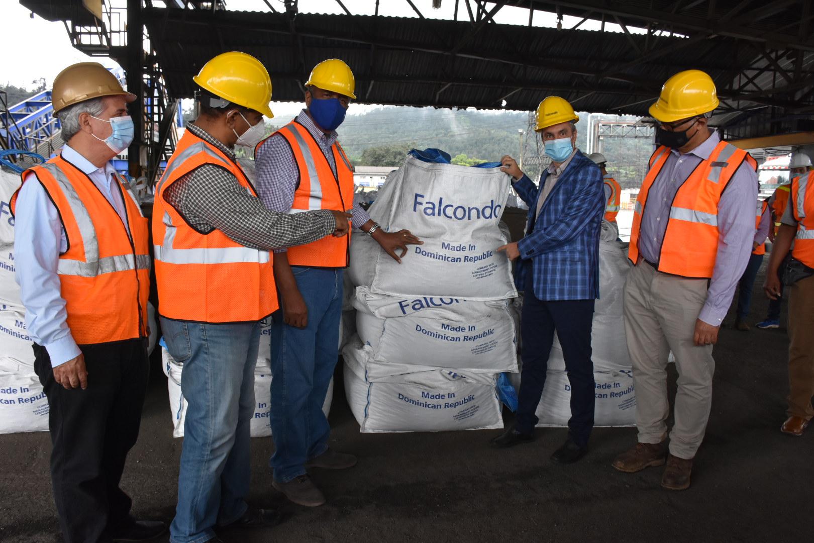 Almonte visita SJM y Falcondo; Promueve desarrollo de minería