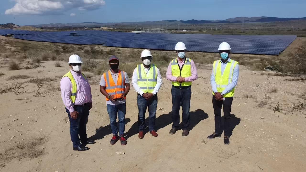 Visita técnica a Planta Solar Fotovoltaica Montecristi