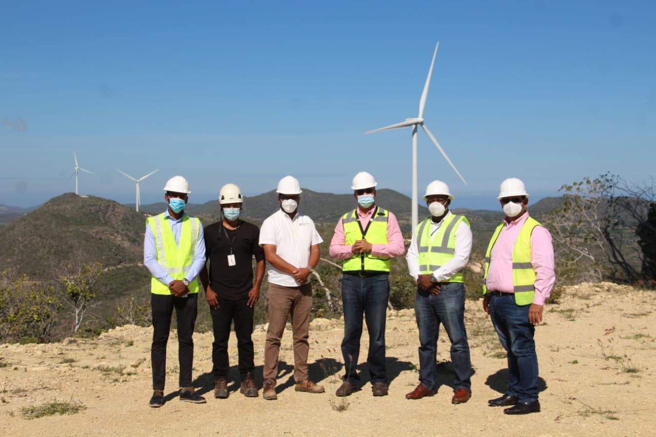 Visita técnica a la Subestación y Parque Eólico Guanillo