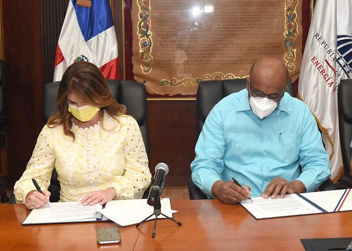 MEM y NUVI firman convenio para impulsar sostenibilidad medioambiental